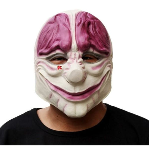 Payday 2 Cosplay Latex Mask Helmet Masks