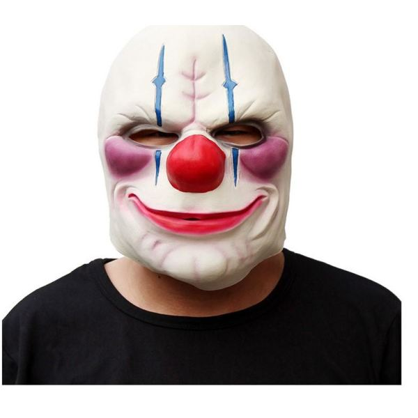Payday 2 Cosplay Latex Mask Masks