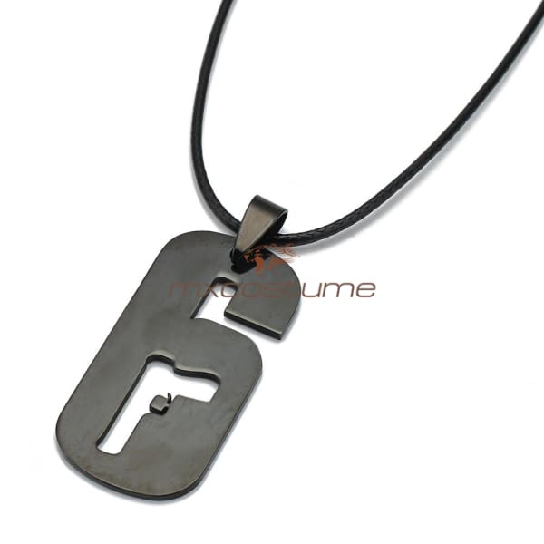 Rainbow Six Cosplay Stainless Steel Pendant Necklace