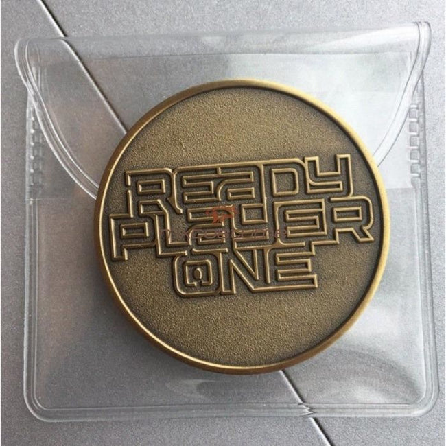 Ready Player One 2018 Cosplay Game Coin Accessories
