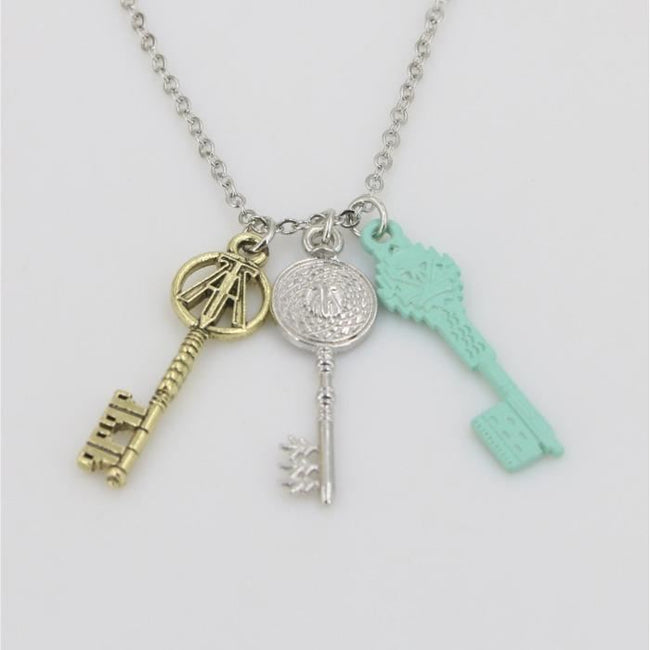 Ready Player One 2018 Cosplay Key Necklace Accessories