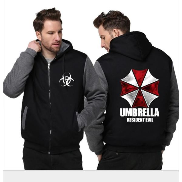 Resident Evil Cosplay Costume With Umbrella Logo Costumes