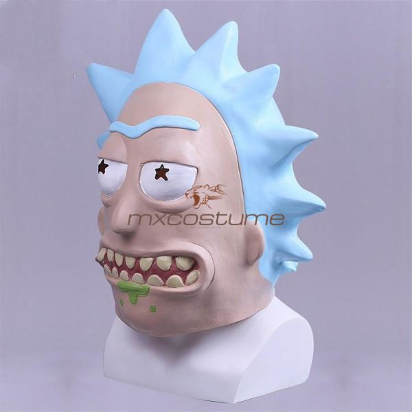 Rick And Morty Cosplay Mask& Helmet Masks