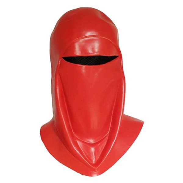 Star Wars Emperors Royal Guard Soldier Cosplay Red Latex Mask