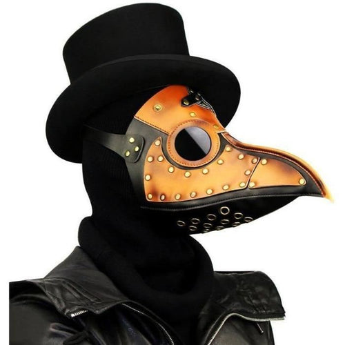 Steam Punk Plague Beak Bird Mouth Cosplay Mask Masks