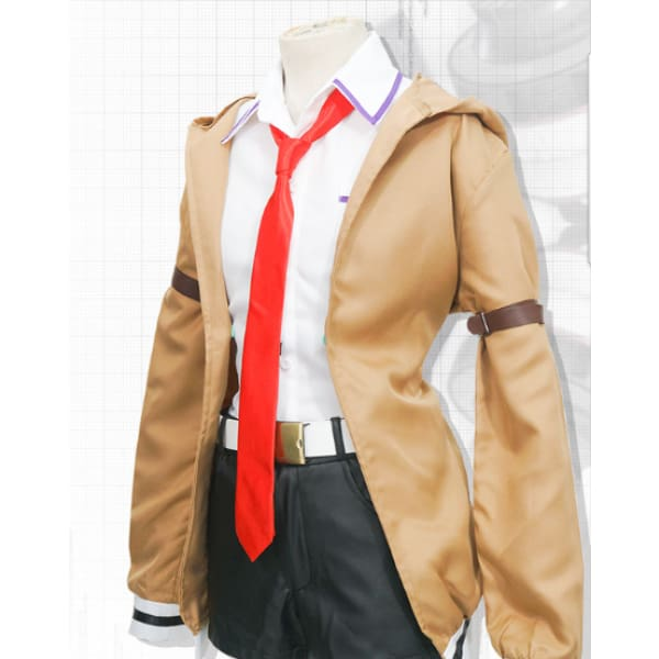 Steins Makise Kurisu Cosplay Costume Costumes