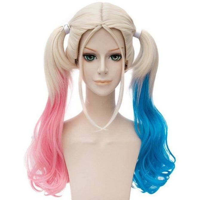 Suicide Squad Harley Quinn Cosplay Wig Accessories