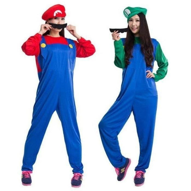 Super Mario Cosplay Costume For Adults Costumes
