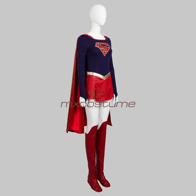 Supergirl Cosplay Costume Full Sets Costumes
