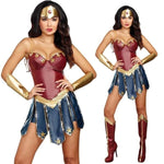 Superhero Wonder Woman Cosplay Dress