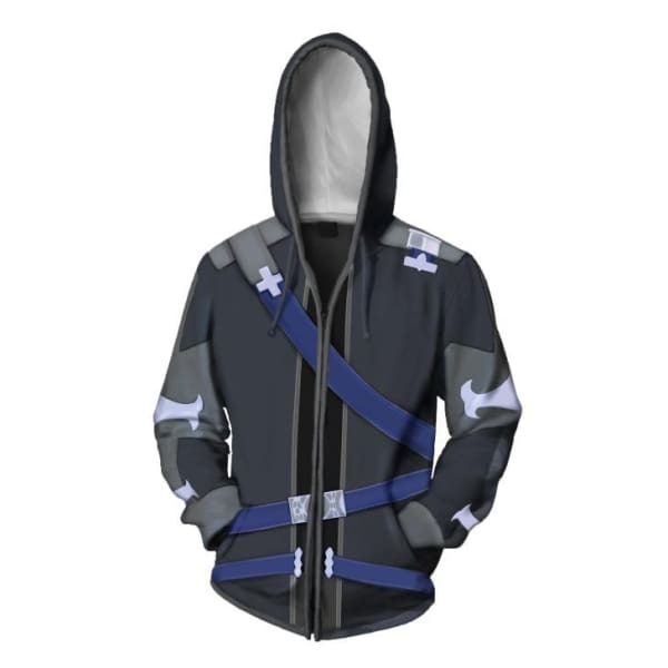 Sword Art Online 3 Alicization Kirito Cosplay 3D Print Hoodie Hoodies