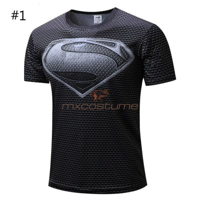 The Avengers Superhero Cosplay Short Sleeves T-Shirt
