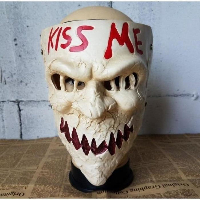 The Purge Kiss Me Mask Masks