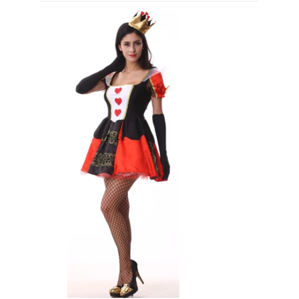 The Queen Of Heart Cosplay Costume Costumes