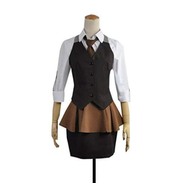Tokyo Ghoul Kirishima Touka Worksuit Workwear Outfits Working Uniform Cosplay Costume