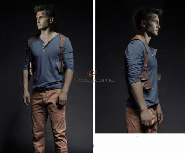 Uncharted 4 A Thiefs End Drake Cosplay Costume Costumes