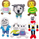 Undertale Cosplay 7 Plush Dolls Toys Accessories