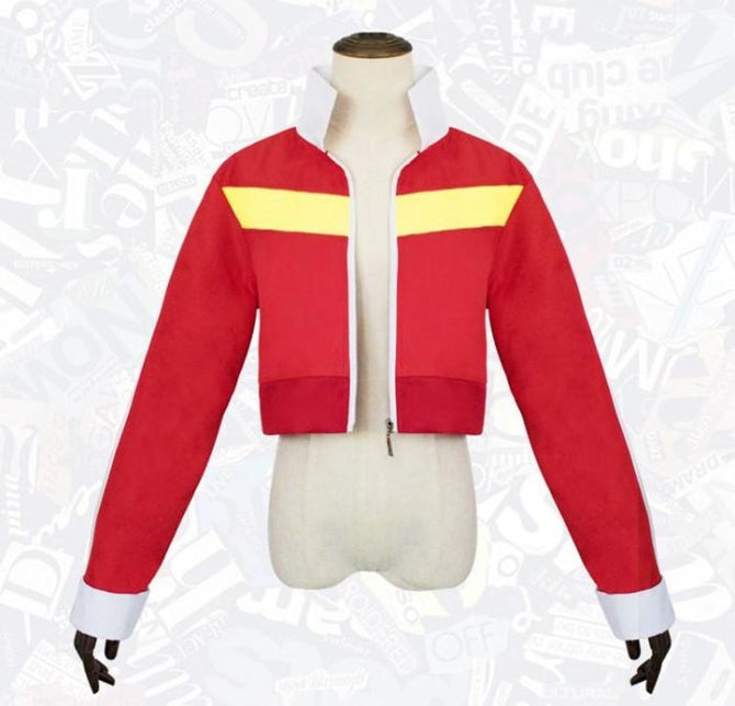 Voltron Legendary Defender Cosplay Red Costume Costumes