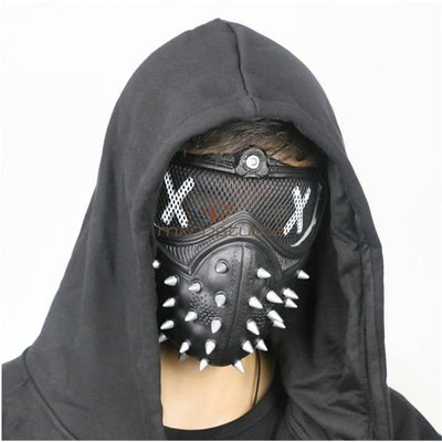 Watch Dogs 2 Wrench Pvc Halloween Party Mask Accessories