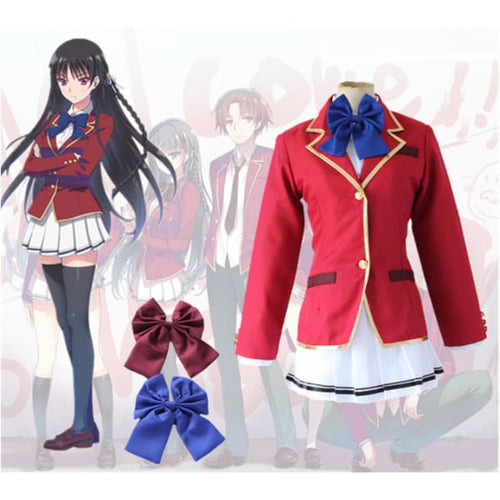 Welcome To The Classroom Of Supreme Principle Force Horikita Suzune Cosplay Costume Costumes