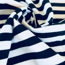 The Perfect Jersey Stripe in Navy and White from Stitchy Bee