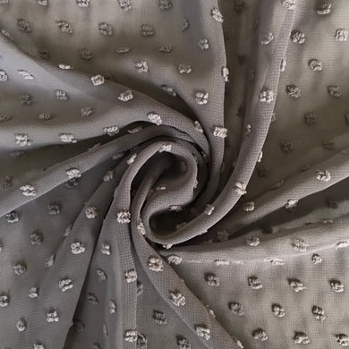 Steely Grey Knot Chiffon from Stitchy Bee
