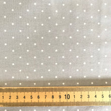 Little Dots Dove Grey Jersey from Stitchy Bee