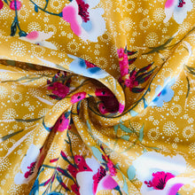 Mustard Floral Blousey Fabric from Stitchy Bee