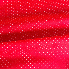 Scarlet Tiny Dots Cotton from Stitchy Bee