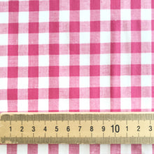 Fuschia Gingham Cotton Check from Stitchy Bee