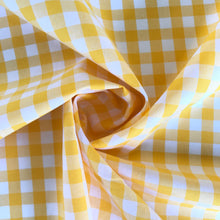 Summer Lemon Yarn Dyed Gingham from Stitchy Bee