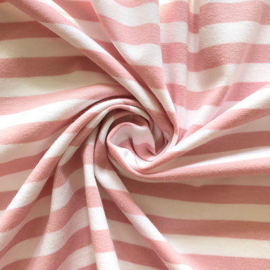 The Perfect Jersey Stripe in Pastel Pink from Stitchy Bee
