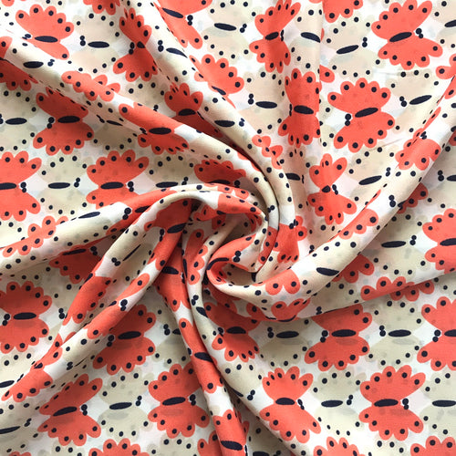Peachy Keen Smooth Crepe from Stitchy Bee