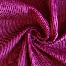 Wine Corduroy - sold by the half metre