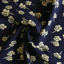 Alright Petal Navy Viscose from Stitchy Bee