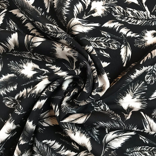 Lucky Feather Viscose - sold by the half metre