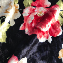 Verity Velour - Navy Floral Velvet from Stitchy Bee