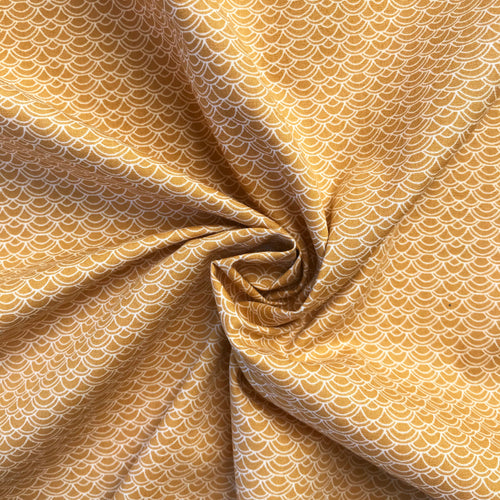 Milly Mustard Cotton form Stitchy Bee