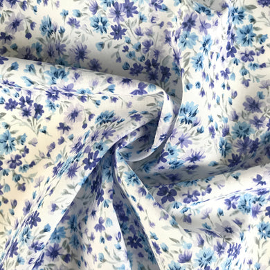 Forget Me Not Cotton Voile from Stitchy Bee