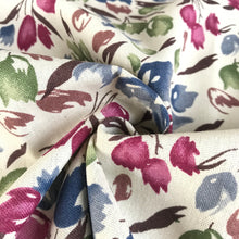 Mulberry Blooms Linen Viscose from Stitchy Bee