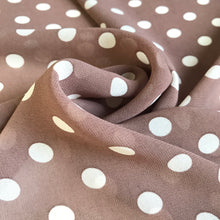 Vivienne Taupe Crepe Chiffon from Stitchy Bee