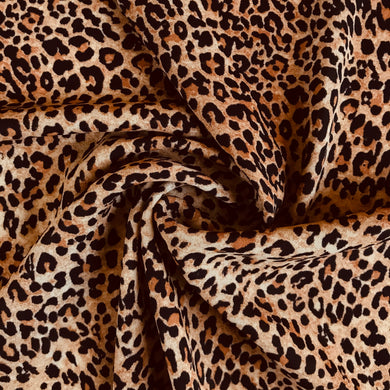Leopard Georgette Crepe from Stitchy Bee