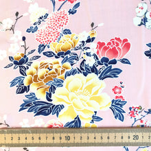 Easter Pink Floral Viscose from Stitchy Bee