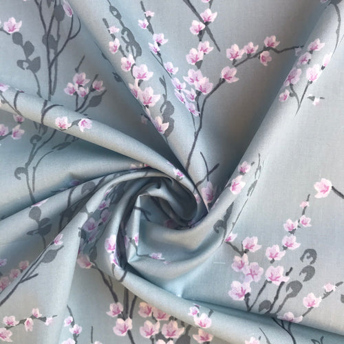 Blossom Cotton Poplin - sold by the half metre