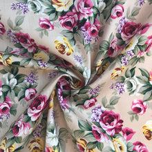 Rosie Floral Cotton - sold by the half metre