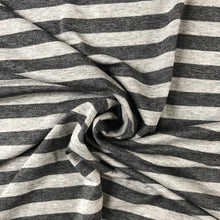 Grey Stripe Viscose Jersey from Stitchy Bee