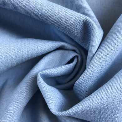 Skinny Light Blue Denim - sold by the half metre now £4.00 was £5.00
