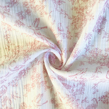Japanese Blossom Double Gauze 100% Cotton from Stitchy Bee