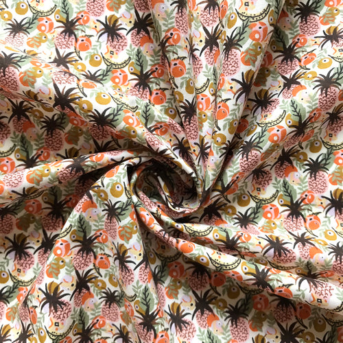 Pineapple Cotton Lawn from Stitchy Bee