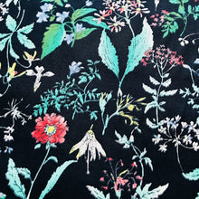 Spring Meadow Navy Cotton Lawn from Stitchy Bee